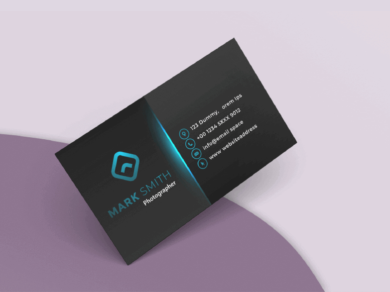 Photography Business Card maker