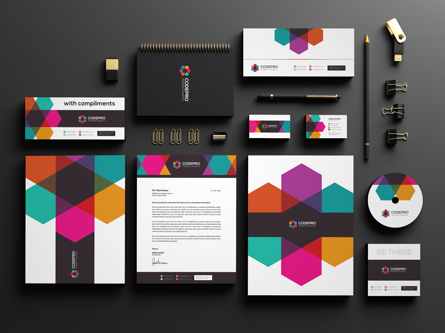 Media Stationery in Stationery Design Inspiration by Noufal A P