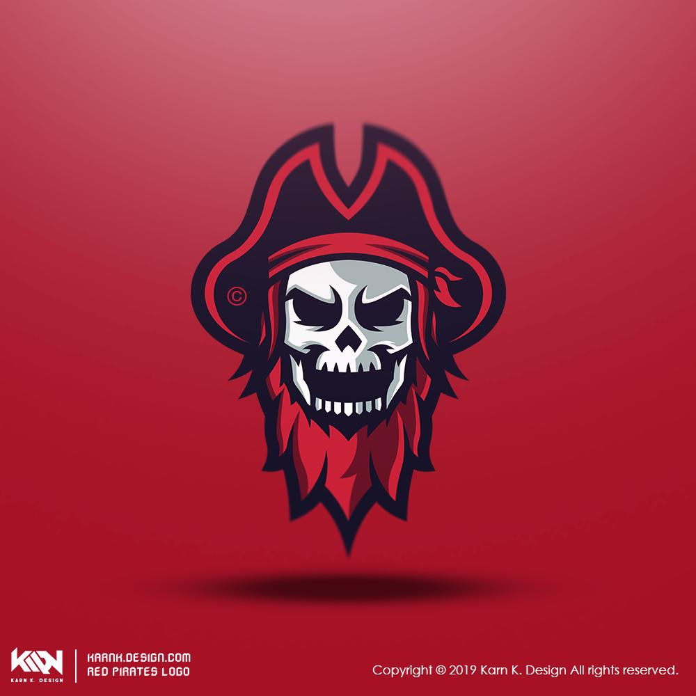 Red Pirates Secondary Logo - Logo Design Inspiration ...