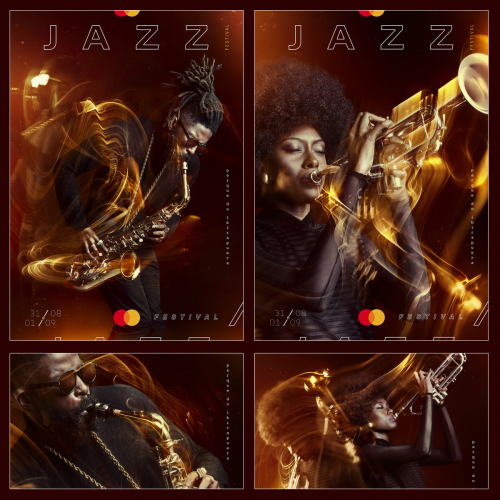 Poster Mastercad Jazz Festival in São Paulo