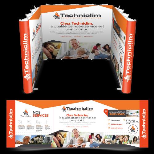 Techniclim Exhibition Booth Design