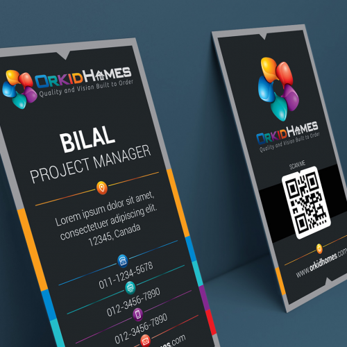 OrkidHomes Business Card Design