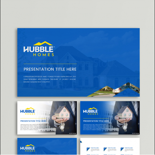 Real estate company powerpoint template