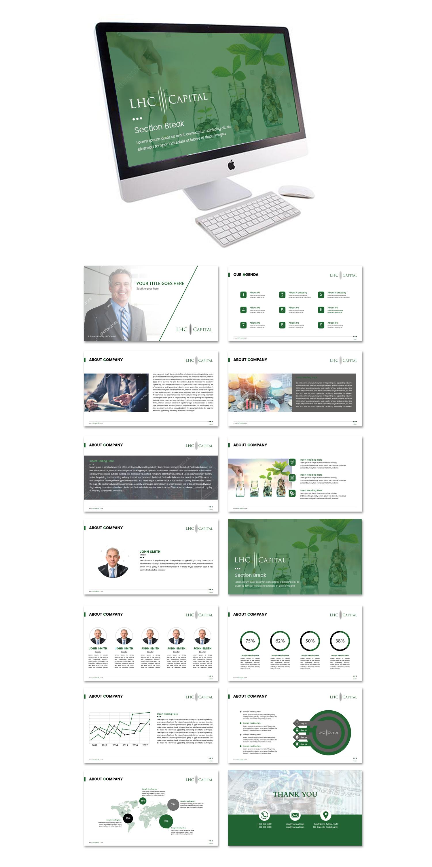 LLC Company powerpoint template