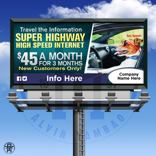 Billboard Design mockup