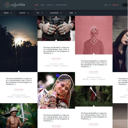 Unjumble Website