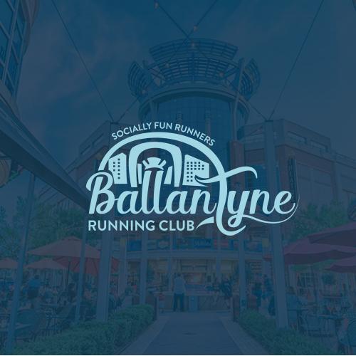 Logo for running club