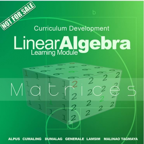 Cover for Mathematics Book