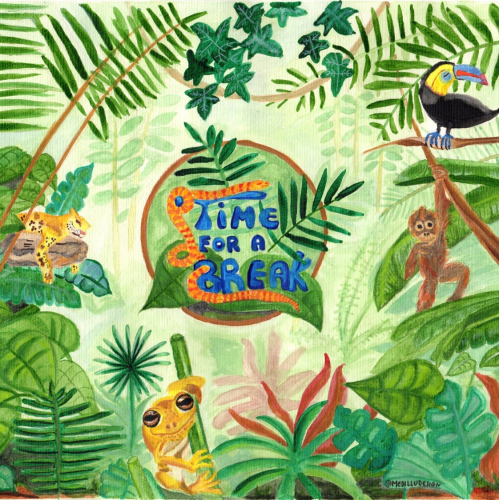 Jungle Animals - Time for a break