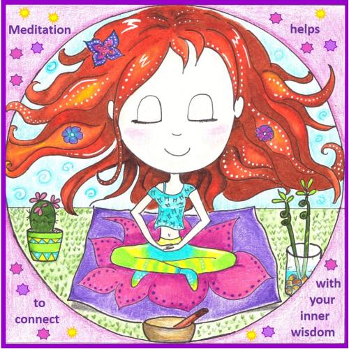 Meditation Cutie Children Book