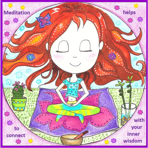 Meditation Cutie Children Book