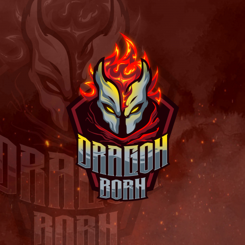 eSports Logo Dragon Born