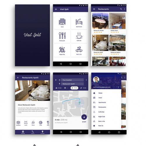 Visit Split App Prototype