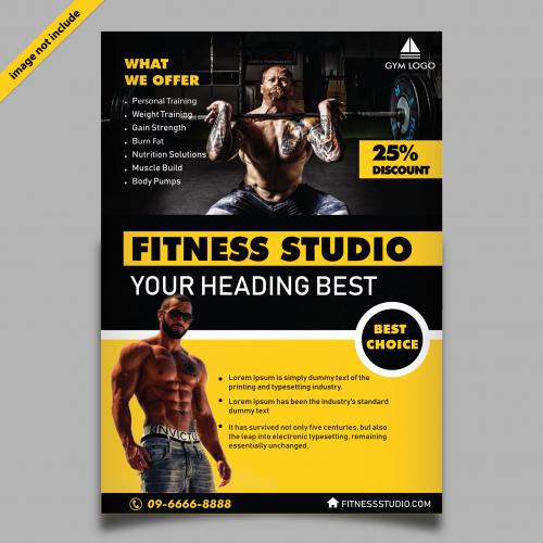 Fitness Studio Brochure