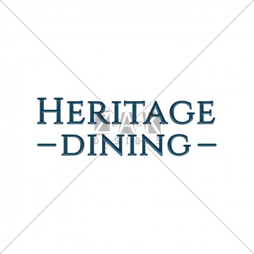 Logo Designing for Heritage Dining