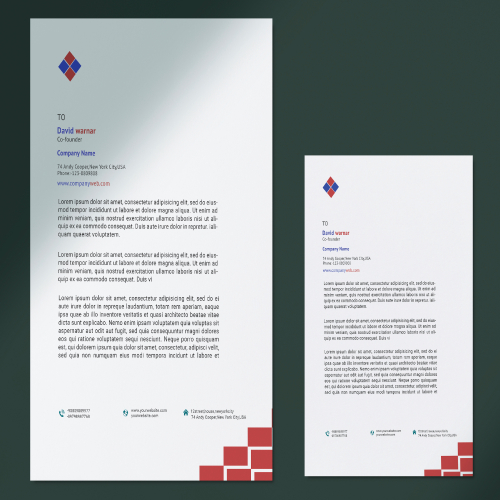 This is a letterhead design.This is a creative design.