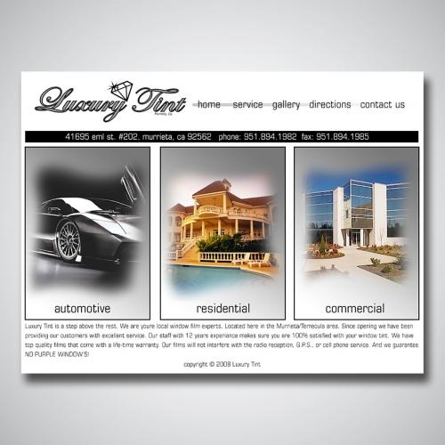 Tinting Website