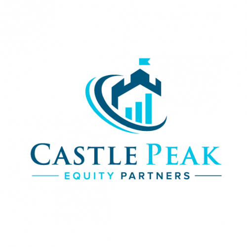 logo concept for castle peak