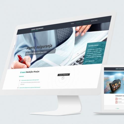Insurance agency website