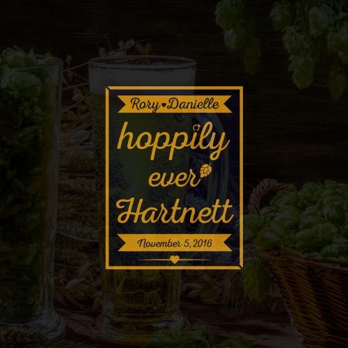 Hoppily Label design