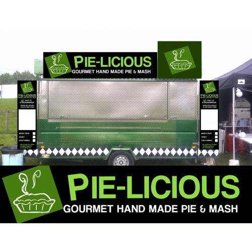 Pie Licious Signage design