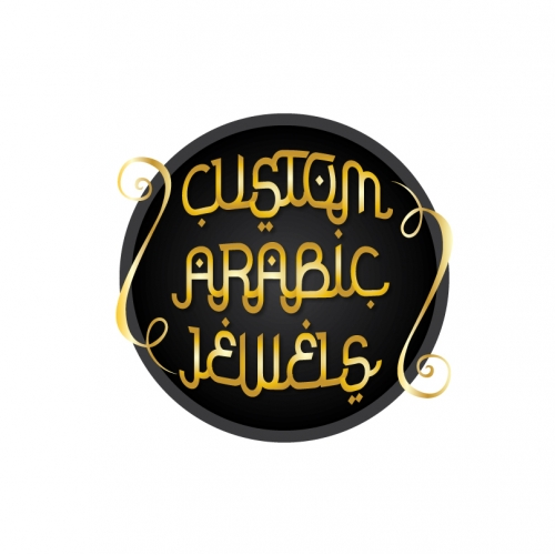 Custom Arabic Jewels Logo Design