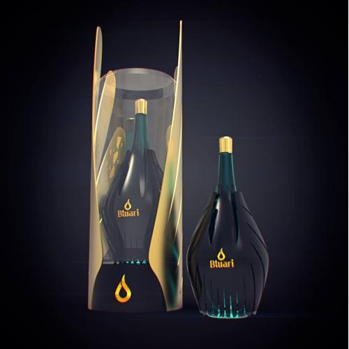 Logo and bottle design