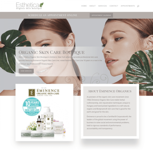 Esthetica Web Design