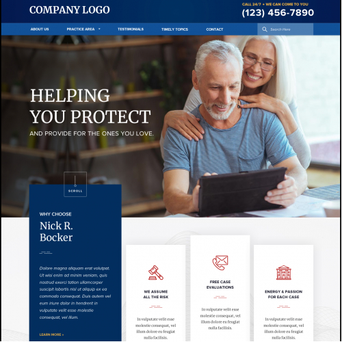 Helping You Protect - Website