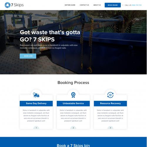 Got Waste-  website redesign