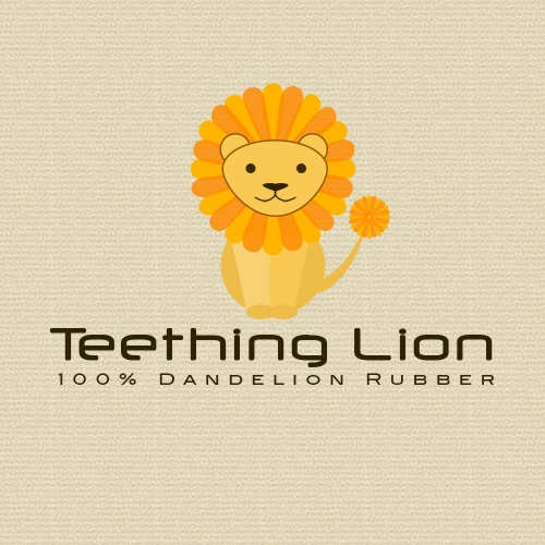 teething lion
