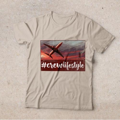 #crewstyle T-shirt design