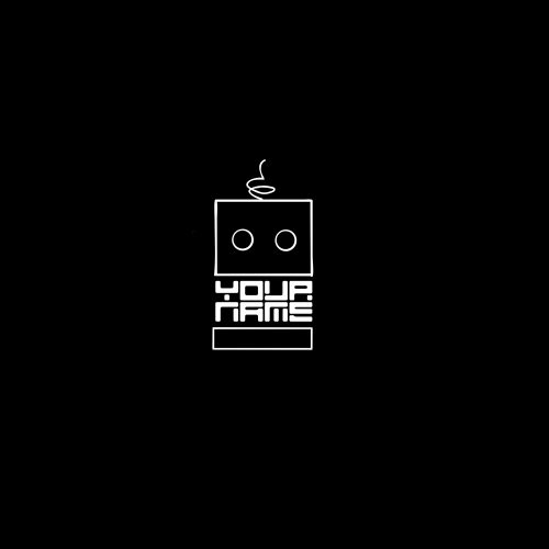 Minimal Robot Logo