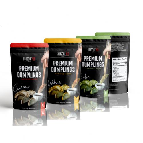 Dumpling Packaging Design