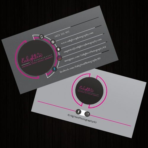 Business card (photography)