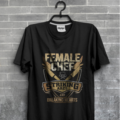 Female Chef T-shirt