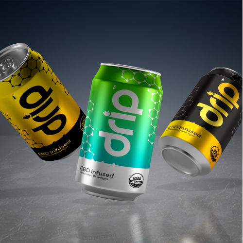 Drip Soda Can Design