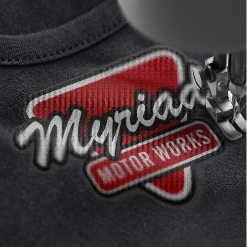 myriad Motor Work Logo