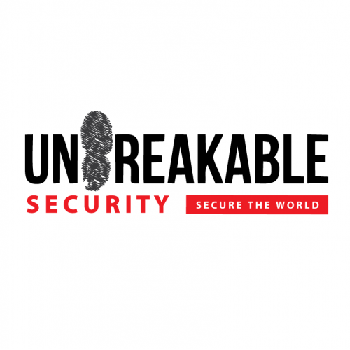 Unbreakable security logo