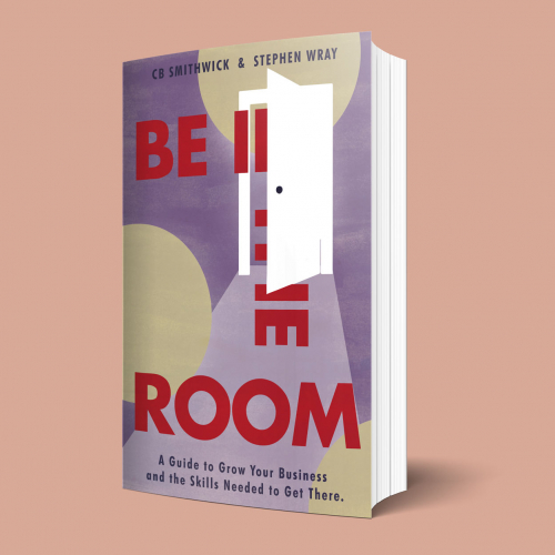 Book Cover Concept for Be In The Room