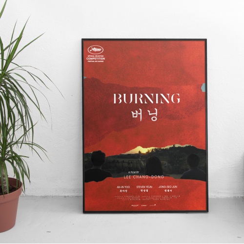 Burning 2018 Poster