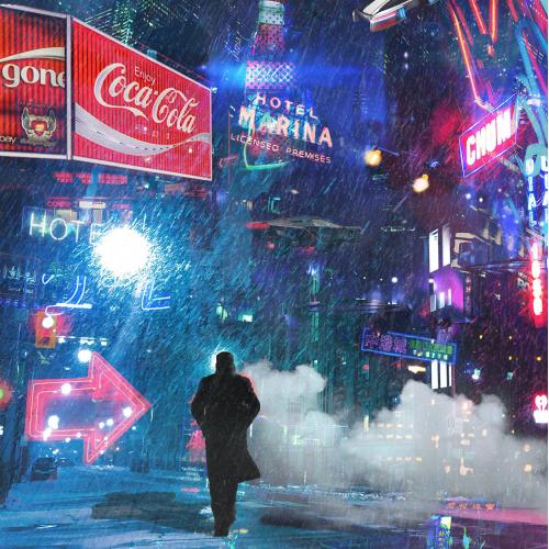 Poster design for Blade Runner 2049
