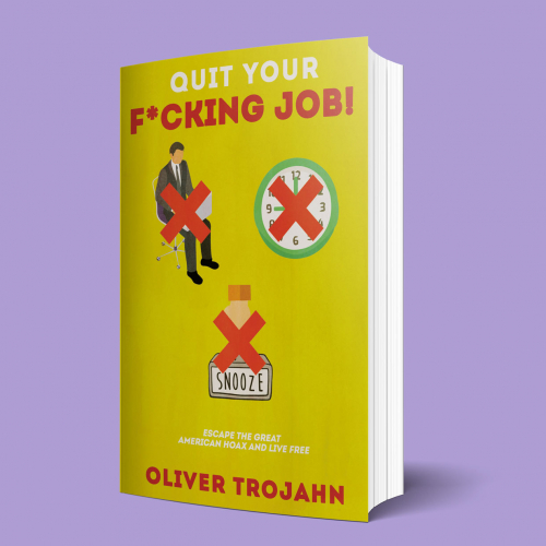 Book Cover Design for Quit Your Job