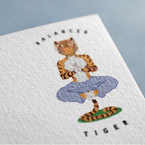 Logo Concept for Balanced Tiger