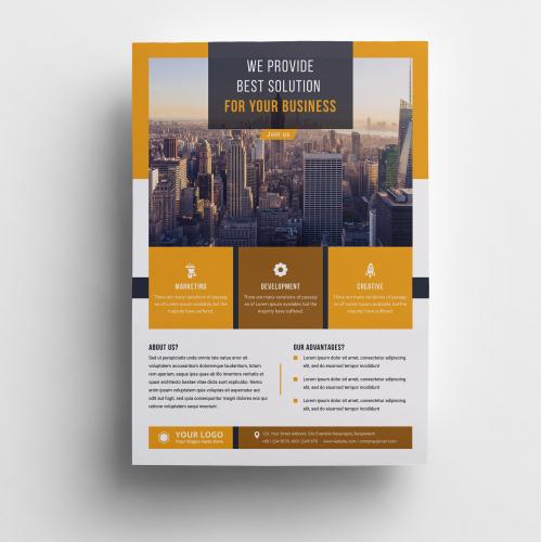 Business Flyer Corporate Design