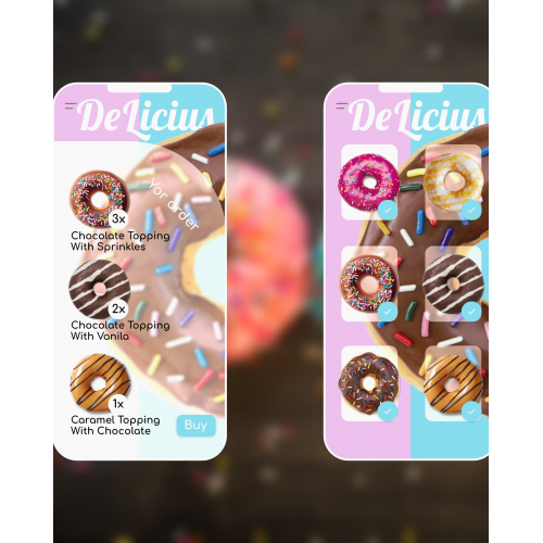 Dount's mobile app shop
