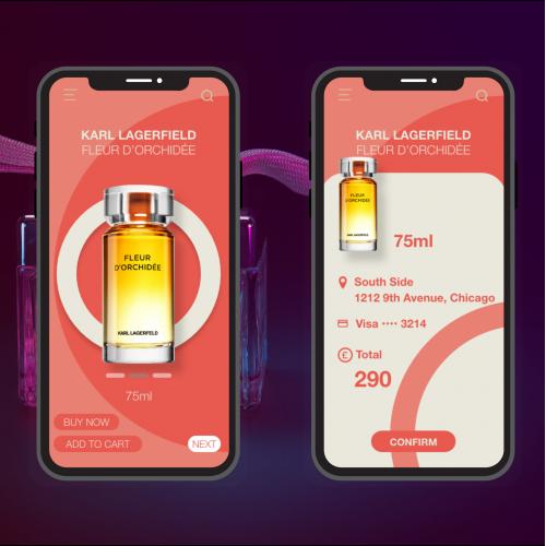 Perfume online shop