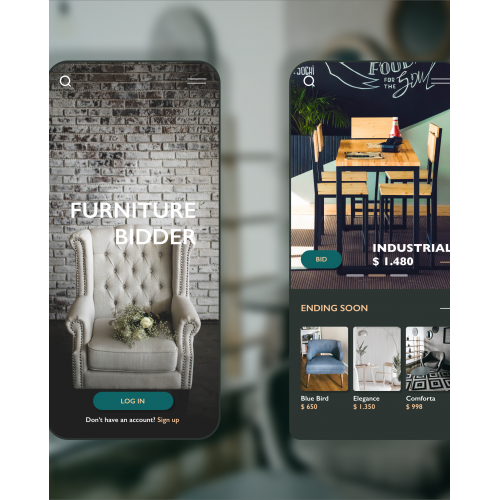 Furniture mobile App Design