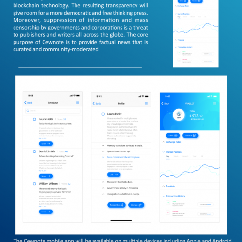 one pager executive summary design