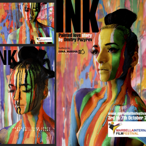 INK poster and flyer